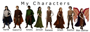 My characters