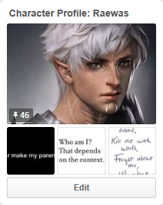 Raewas' Pinterest page
