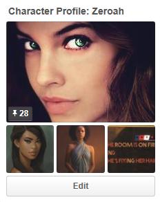 Zeroah's Pinterest page