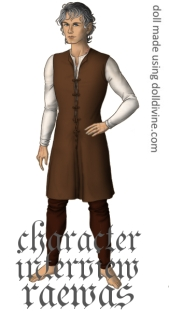 This rendering of my character I made using the website dolldivine.com.