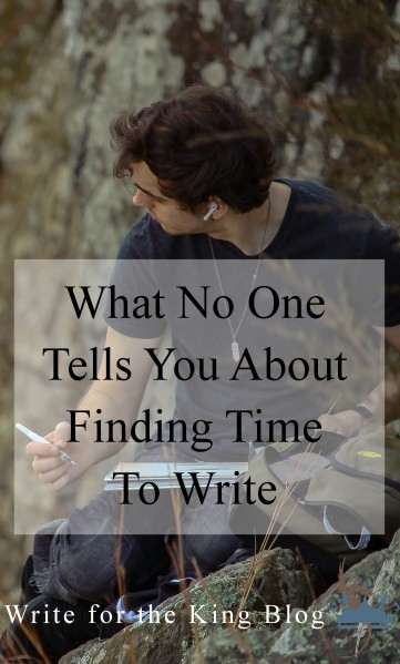 What No One Tells You About Finding Time to Write